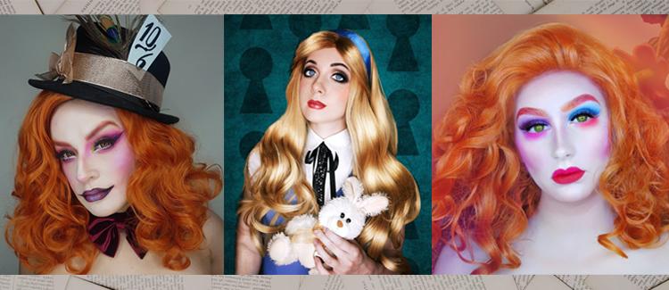 Alice In Wonderland Character Wigs UK
