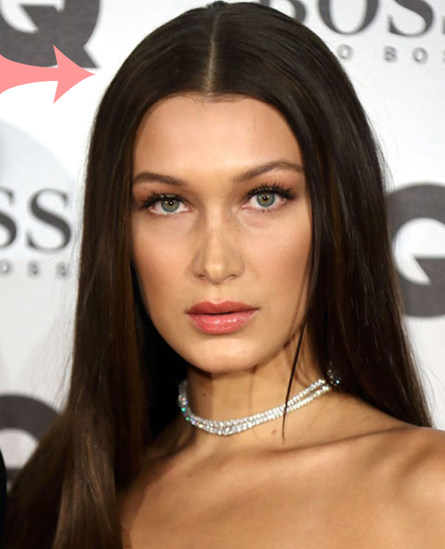 Bella Hadid Brown Hair Colour
