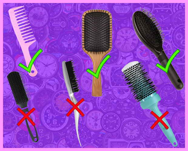 Brushes For Synthetic Wigs