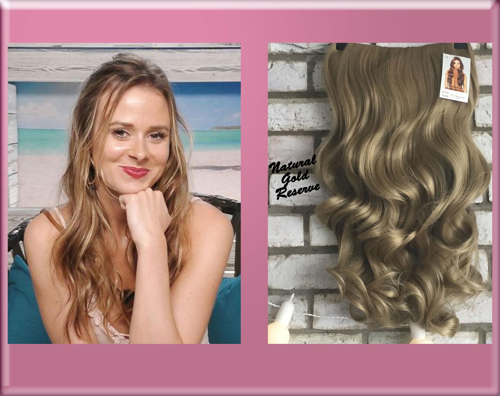 Camilla Love Island 2017 Half Wig Hair Extensions