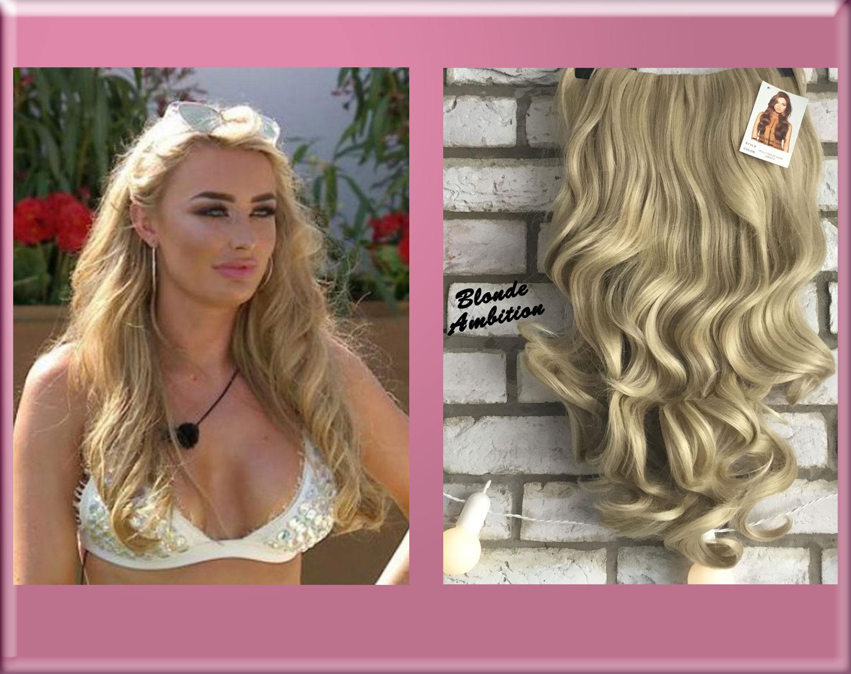 Chloe Love Island 2017 Half Wig Hair Extensions