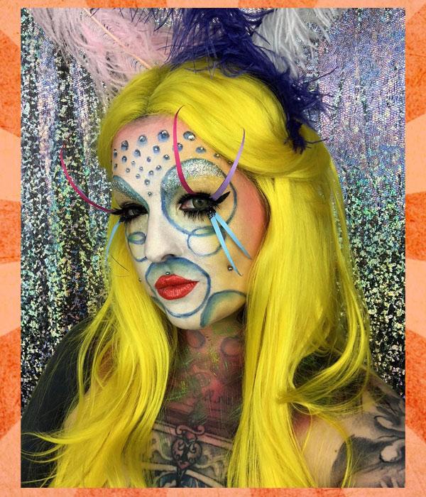 Circus Acrobat Makeup