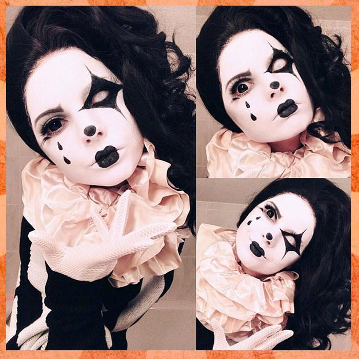 Circus Mime Makeup