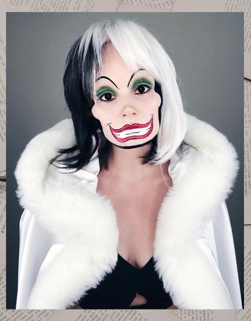 Cruella De Vil Wig UK