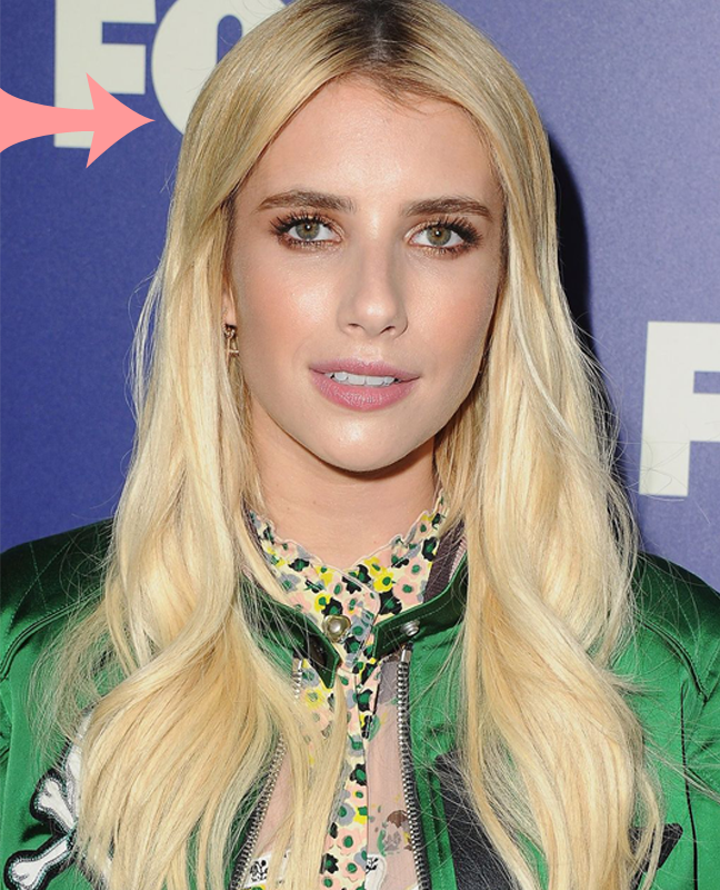 Emma Roberts Blonde Hair Colour