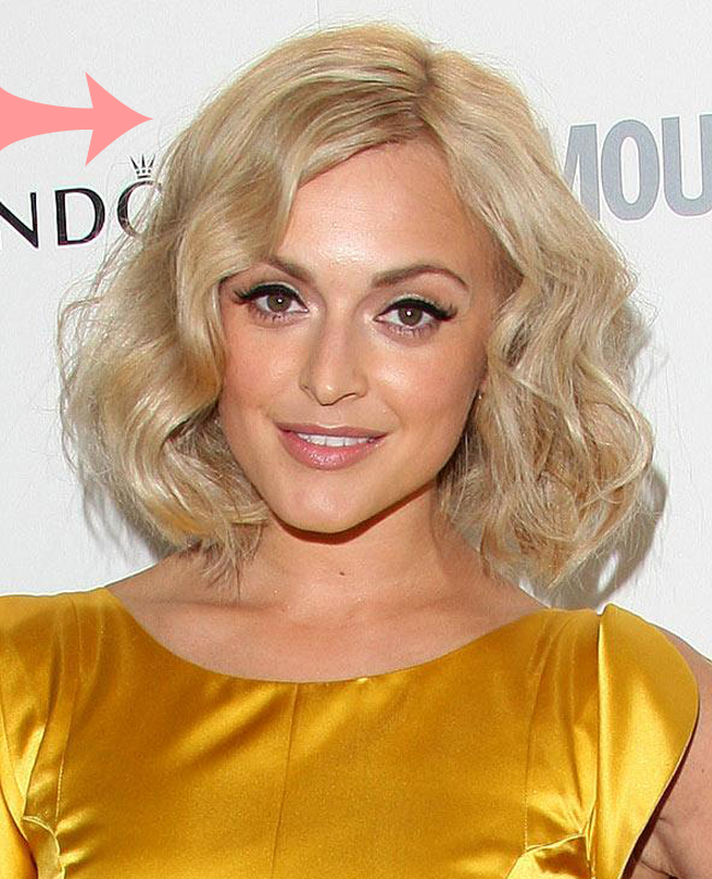 Fearne Cotton Blonde Hair Colour