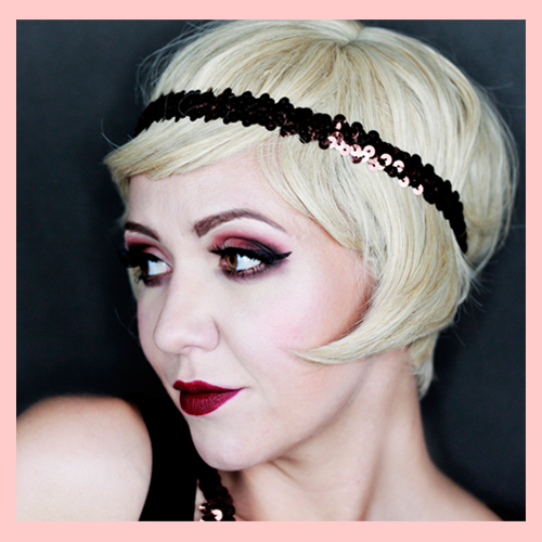 Flapper Wig Blonde 1920s