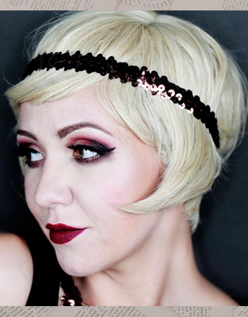 Flapper Wig Blonde UK