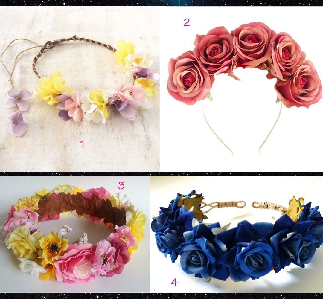 Flower Crowns For Wigs