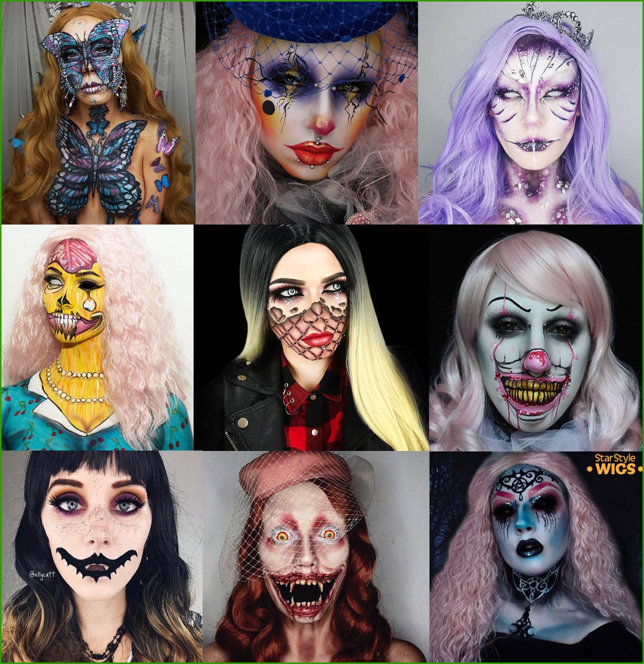 Halloween Wigs Womens
