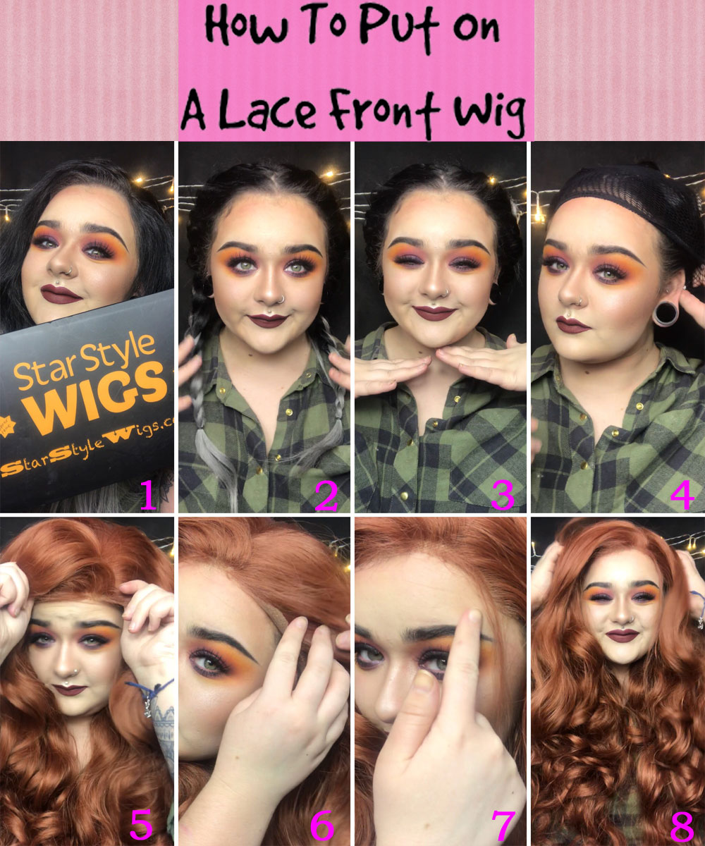 How To Put On A Lace Front Wig Step By Step Guide