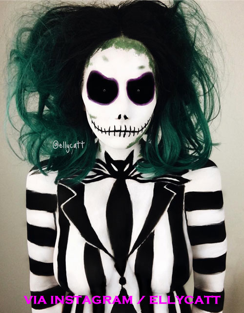 Jack Skellington Female Makeup