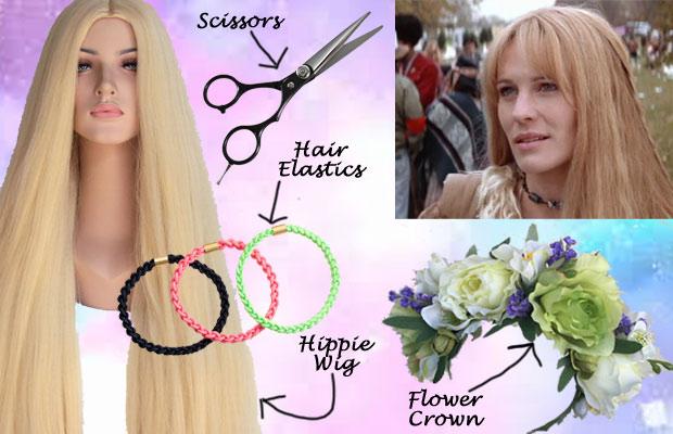Jenny Forrest Gump Hippie Hair Cosplay