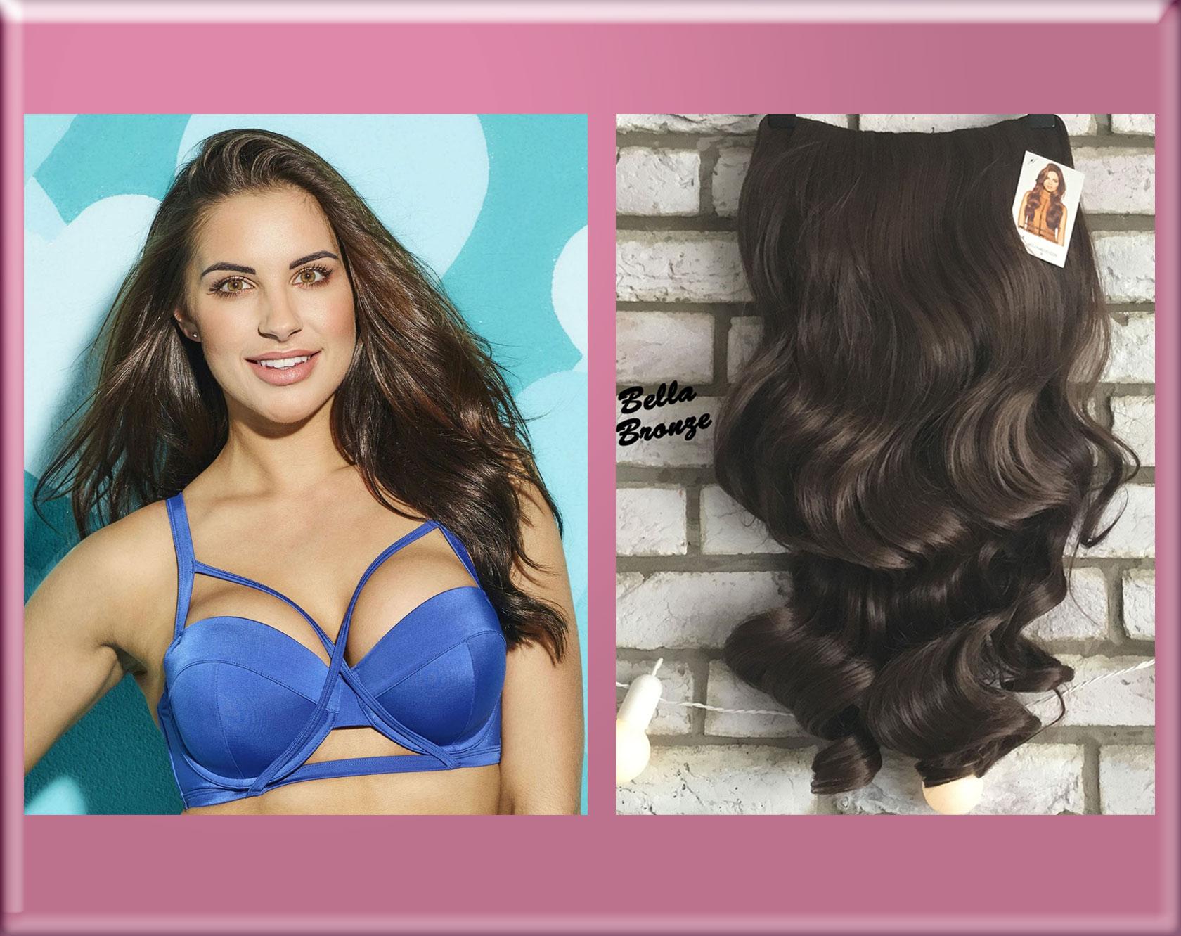 Jess Love Island 2017 Half Wig Hairpiece