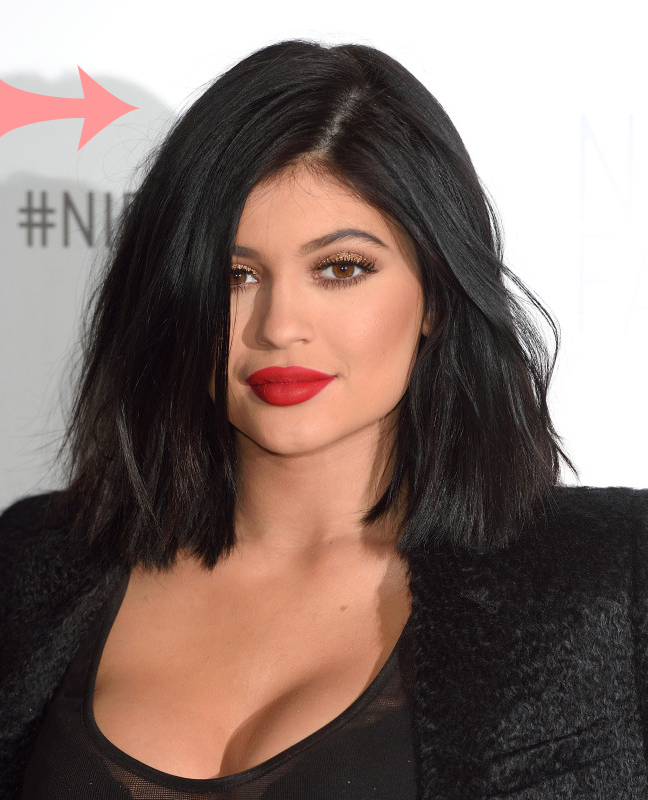 Kylie Jenner Black Hair Colour