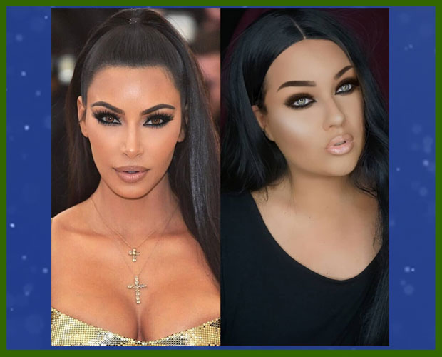 Kim Kardashian Hair Makeup Transformation