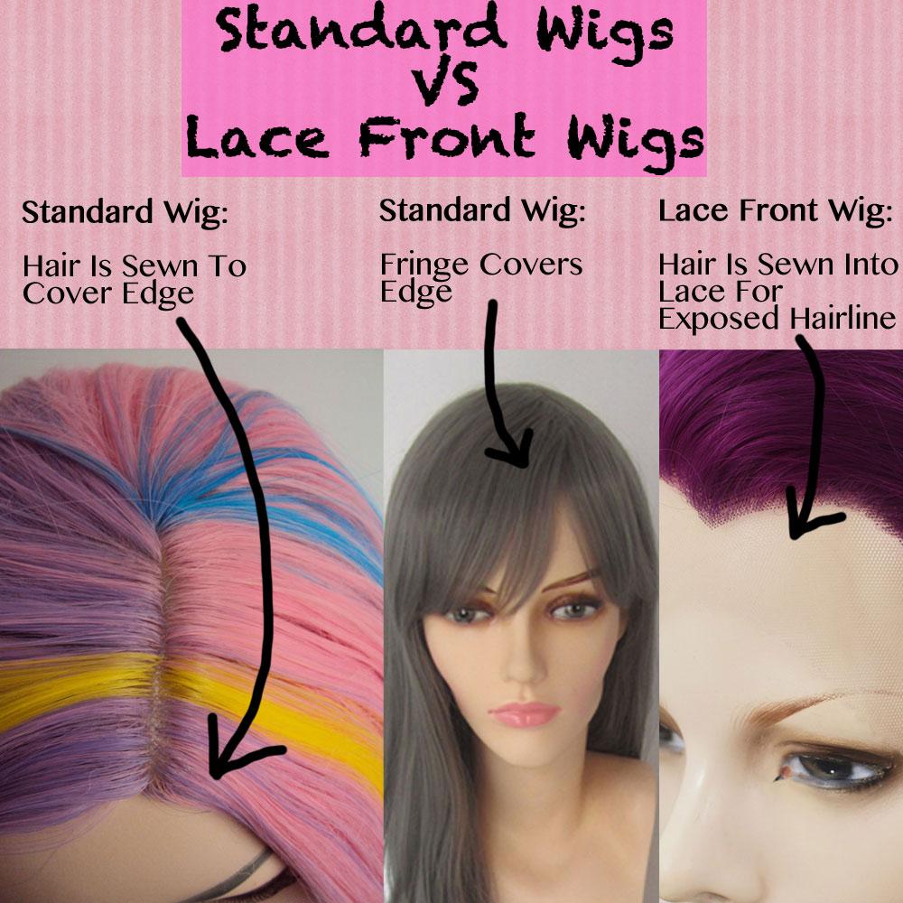 Lace Front Wigs vs Standard Wigs
