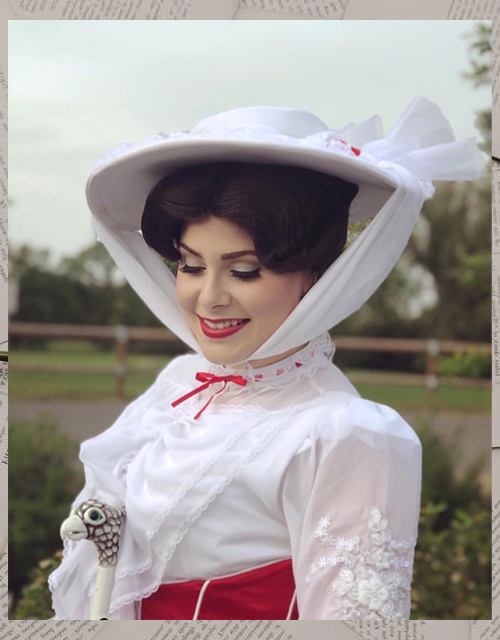 Mary Poppins Wig UK