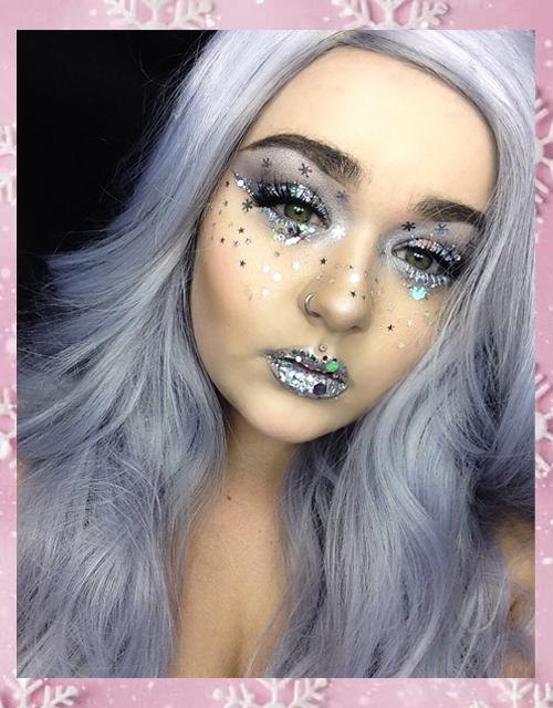 Metallic Silver Wig