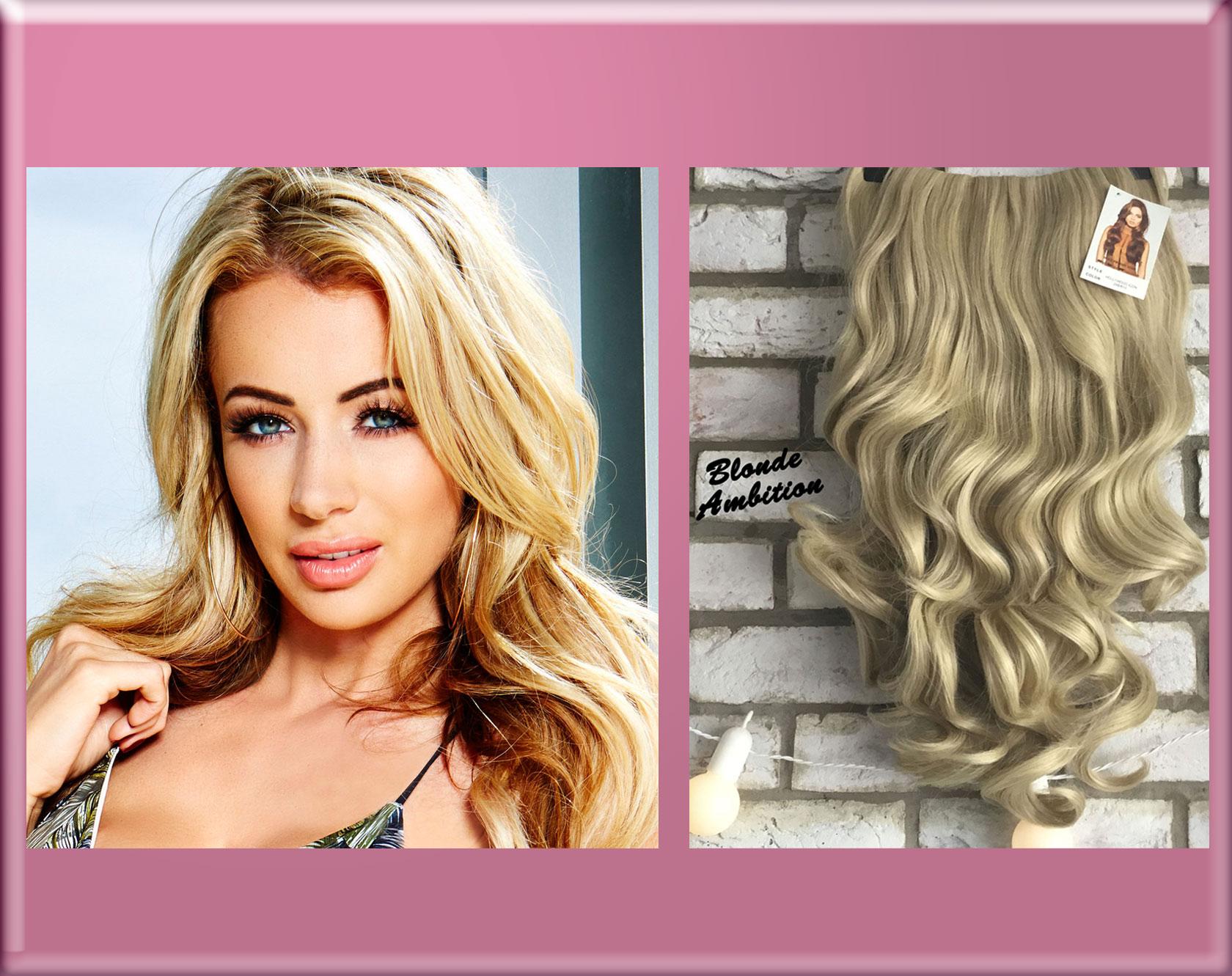 Olivia Love Island Half Wig Hair Extensions
