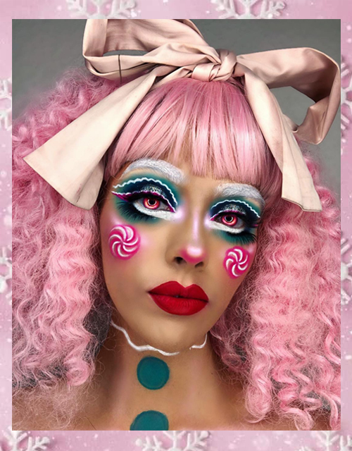 Pink Wig Curly