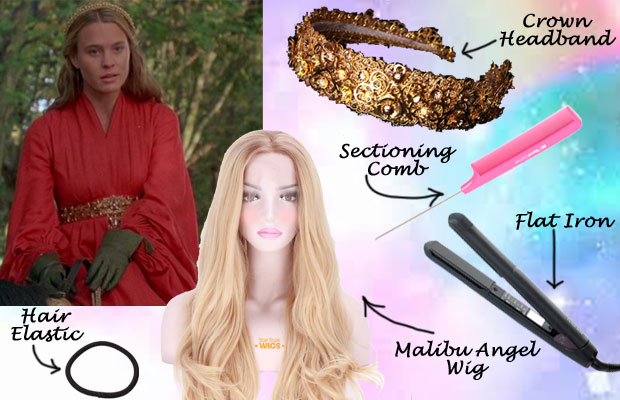 Princess Buttercup Hair Wig