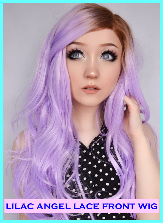 Purple Lace Front Wig Star Style Wigs Review