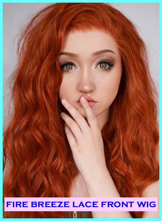 Star Style Wigs Review Ginger Lace Front Wig