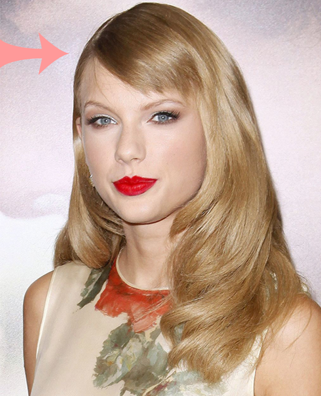 Taylor Swift Blonde Hair Colour