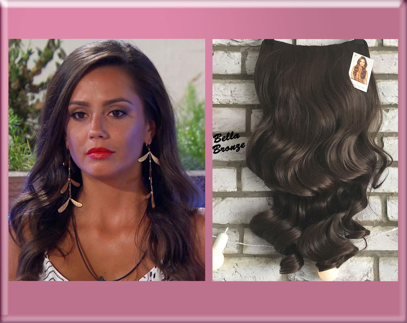 Tyla Love Island Half Wig Hairpiece