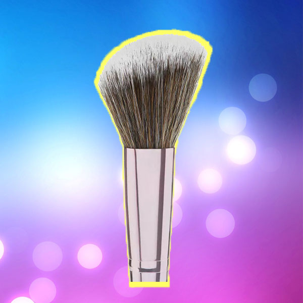 Use Makeup Brush On Wigs To Smooth
